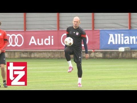 FC Bayern gegen Hamburger SV: Ohne Arjen Robben!