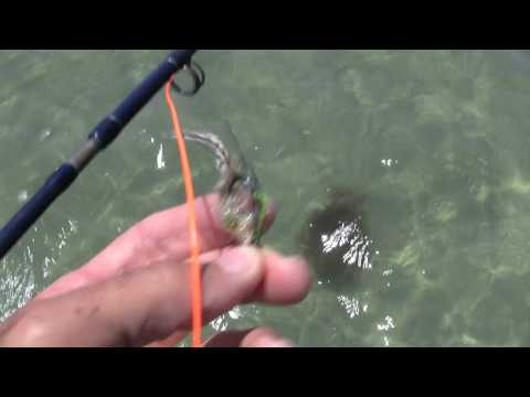 Fly Fishing Barefoot on the Sand of the Lower Laguna Madre.mov
