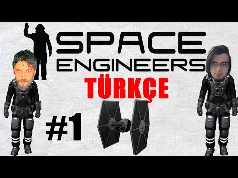 Space Engineers Türkçe Multiplayer | Star Wars Fighter | Bölüm 1