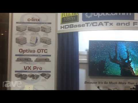 CEDIA 2013: Opticomm Talks About its Full Line of HDBaseT Extenders