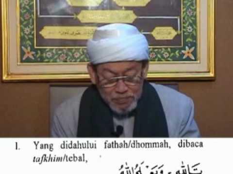 KHM. Basori Alwi - Mengajar Tajwid1