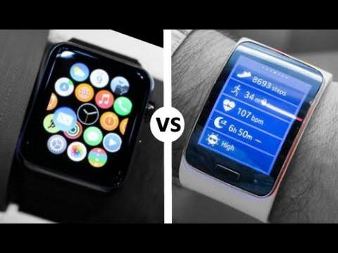 Gear Watch vs Apple Watch Apple Watch vs Samsung Gear s