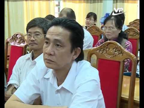 Nguyên chủ tịch nước Trần Đức Lương cùng phu nhân tới thăm Vĩnh Phúc