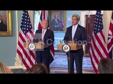 DC:SECY KERRY BILAT W UK FOREIGN SECRETARY