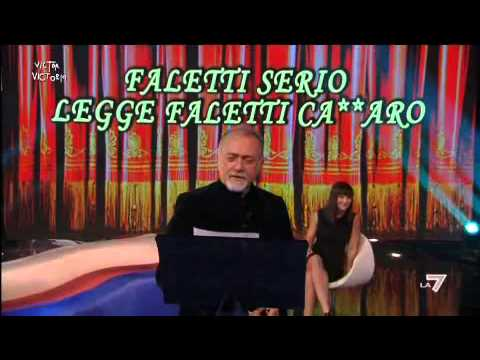 Giorgio Faletti è Vito Catozzo (serio!)