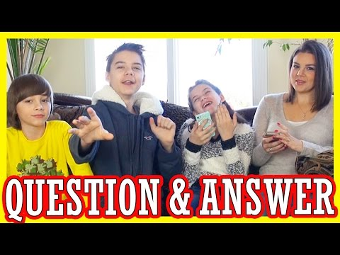 QUESTIONS & ANSWERS!  With Mommy!  And DADDY even!  |  KITTIESMAMA