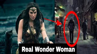 Real life Wonder Woman Using real Superpowers Caught On Camera