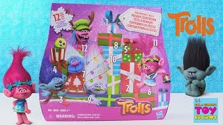 Trolls Advent Calendar 12 Days Of Toy Surprises Review Unboxing | PSToyReviews