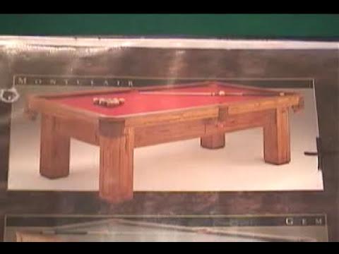 Instalacion mesa de Billar Mesasyfutbolitos.com