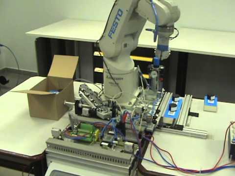 Robot Festo Mitsubishi RV-2AJ embalado 11 pulgadas