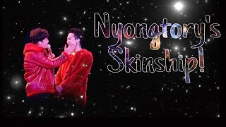 NYONGTORY'S SKINSHIP COMPILATION (PART 1)