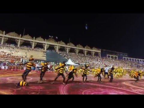 "Philippines' ""Buyogan"" Bee Dance in World Culture Festival, India"