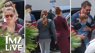 Ryan Gosling & Eva Mendes Secret Baby! | TMZ Live