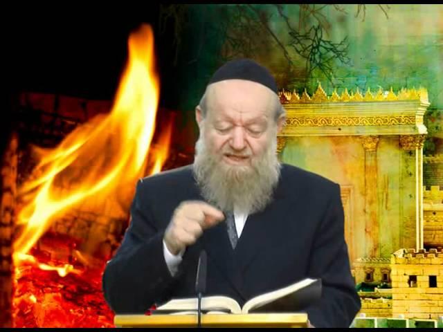 בין המצרים - על מה מתאבלים הרב יוסף בן פורת חובה לצפות מרתק ביותר חובה לצפות!!!