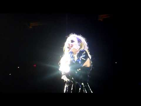 Lady Gaga- Fan Makes Gaga Cry (Cleveland, 04/27/11) Music Videos