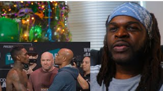UFC 234: Anderson Silva Breaks Into Tears After Isreal Adesanya Weigh-In Staredown - Reaction