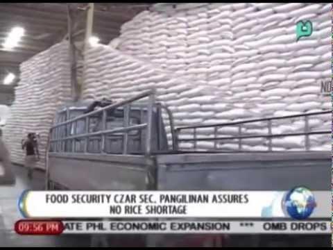 NewsLife: Food security Czar Pangilinan assures no rice shortage || July 1, 2014
