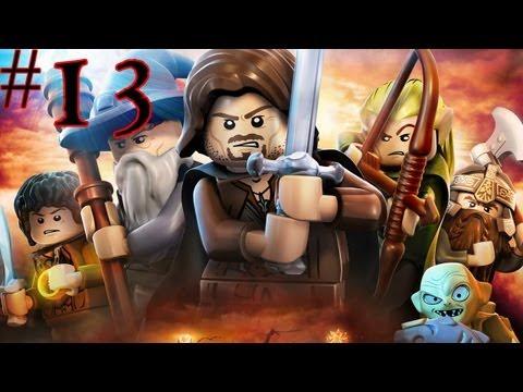 Lego The Lord Of The Rings - Walkthrough - Part 13 - Trees Take Revenge