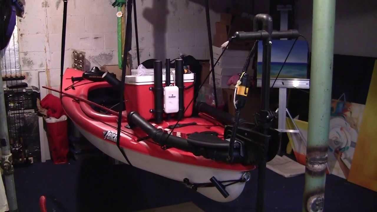 DIY Fishing Kayak With Trolling Motor For Under 400 Bucks