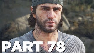 SNOW HORDE in DAYS GONE Walkthrough Gameplay Part 78 (PS4 Pro)
