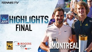 Highlights: Zverev Raises Second Masters 1000 Title Montreal 2017