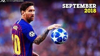 Lionel Messi  September  201819