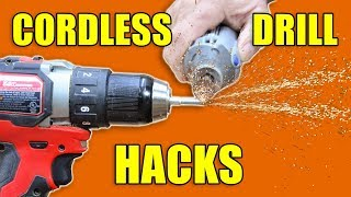 5 Quick Cordless Drill Hacks: Woodworking Tips and Tricks