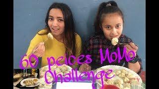 60 MOMOS EATING CHALLENGE | DUMPLING EATING CHALLENGE 2019