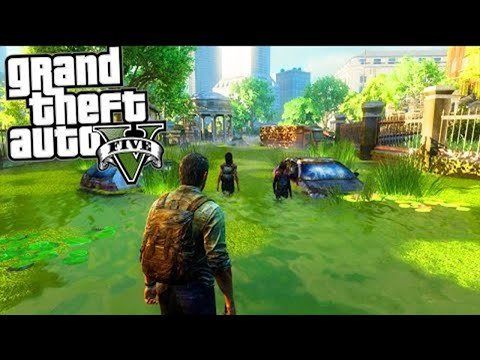 LAST OF US MOD (GTA 5 Mod Komik Anlar)