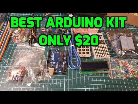 Best Arduino Starter Kit 2017 // Perfect Christmas Gift?