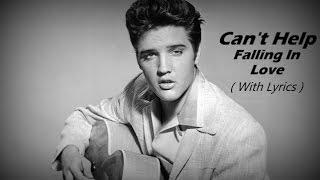 Can 39 T Help Falling In Love Elvis Presley