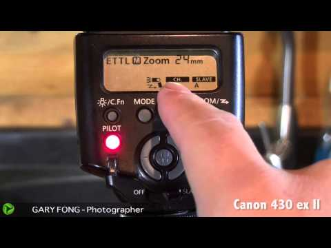 Extremely Detailed Guide For Canon Wireless Flash 600ex 580exII 430exII
