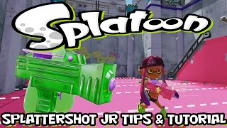 Splatoon - Splattershot Jr. - Quick Tips & Tutorial