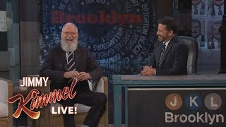 Jimmy Kimmel's FULL INTERVIEW with David Letterman by : Jimmy Kimmel Live