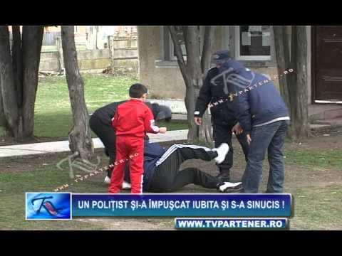 Un poliţist şi-a împuşcat iubita şi s-a sinucis !