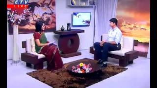 Zahidur Rahman Biplob @ LIVE INTERVIEW on ETV @ 04.11.2013 at 6pm ''EKUSHER SRIJONSHIL SHONDHA''