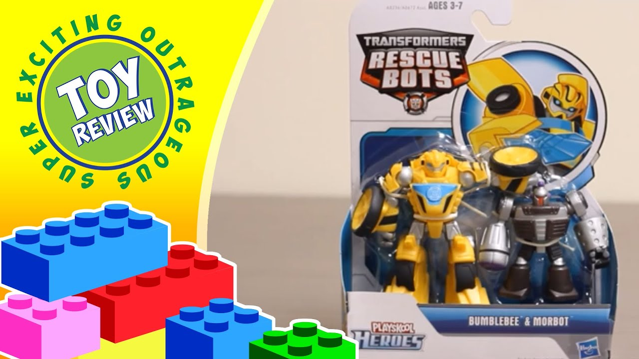 Rescue Bots Bumblebee Toy Rescue Bots Toy Review