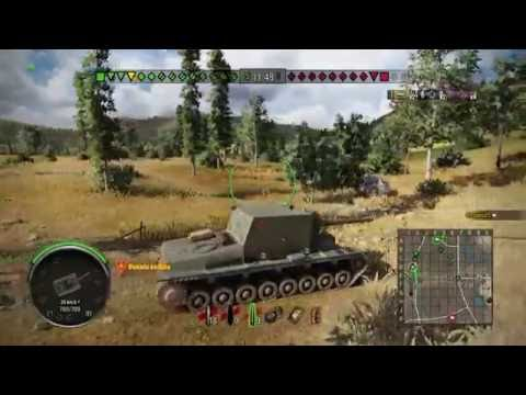 World of Tanks PS4 SU 100Y' Very Nice :)