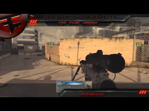 FaZe Top 5 - Trickshots Episode 1 w/ FaZe Temperrr