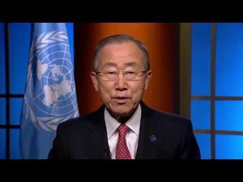 Secretary-General Ban-Ki-Moon video message on #ICN2
