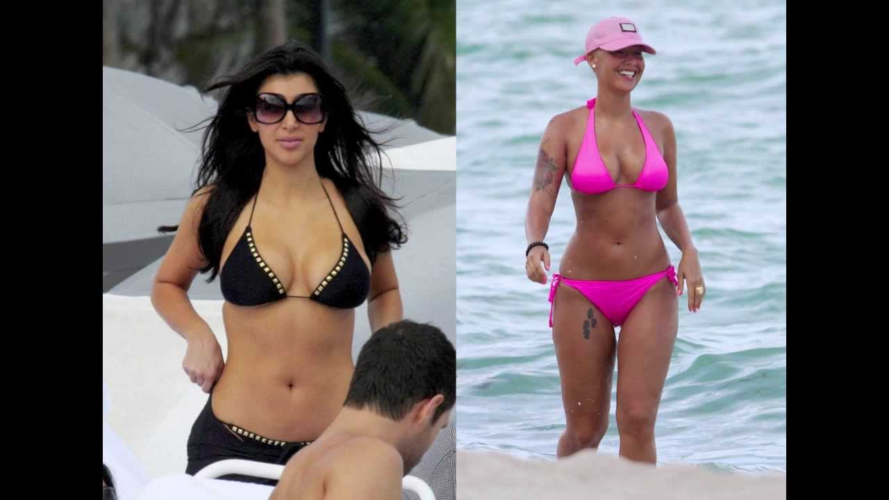 Amber Rose VS. Kim Kardashian