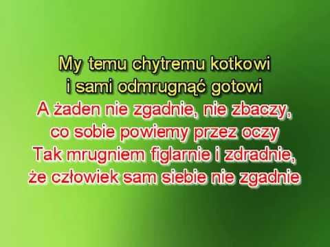 Karaoke Wlazł Kotek Na Płotek - Wersja 2 Szybsza T+5 L M ( Www.letsing.pl )