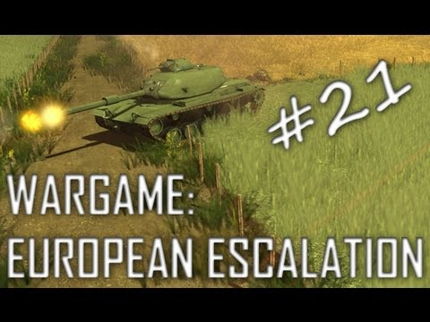 Wargame: European Escalation Gameplay #21 Patton Power (Straight Ahead, 1v1)