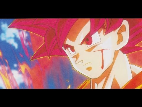 Dragon Ball Heroes Ultimate Mission Super Saiyan God Goku