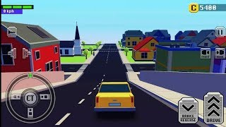 Car Driving In Crazy Town || Craft Toy Car Game || Android IOS Gameplay