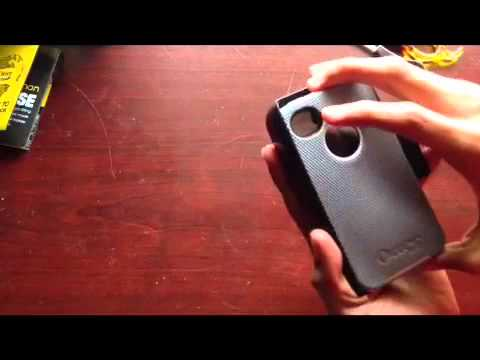 OtterBox Defender Series Hybrid Case/Holster for iPhone 4/4S
