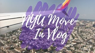 NYU MOVE-IN VLOG 2018 | Sarena Jade