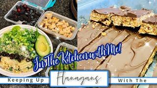 High Carb Hannah's New Vegan Peanut Butter Bars Recipe!