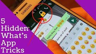 Top 5 What's App Hidden Tricks - Tech Knowledge Hindi
