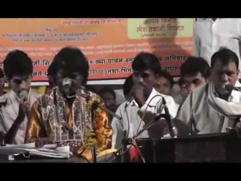 Anand Shinde live aathvita Athavini tribute To Thakaji Sirsath Dabhadi-kannad (aurangabad) video